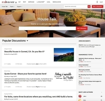 Realtor.com® Unveils 'House Talk'(SM) as a New Resource for Home Buyers, Sellers and Dreamers | Real Estate Plus+ Daily News | Scoop.it