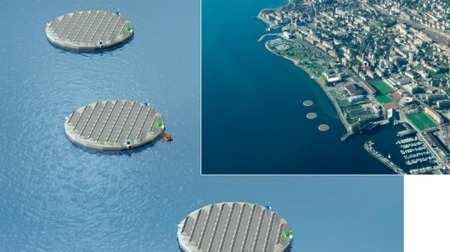 Energy company to test floating solar islands   T4C Architecture   Scoop.it