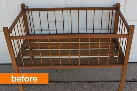 How To Make Storage Bin From Former Crib | news Furniture Design | Scoop.it