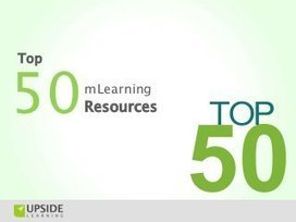 Top 50 mLearning (Mobile Learning) Resources   Possibilities in E-learning   Scoop.it
