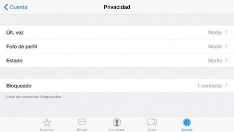 Cómo configurar Whatsapp para que sea lo más privado posible - LaFlecha   Ciberseguridad + Inteligencia   Scoop.it