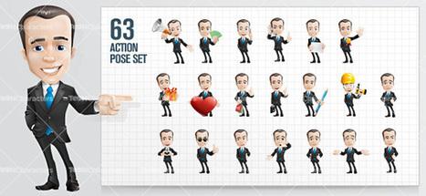 Businessman Cartoon Character | Stock Business Cartoon Characters | Matador | Scoop.it
