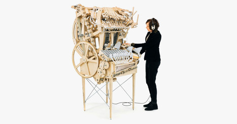 Insanely Complex Machine Makes Music With 2,000 Marbles | Problem Solving in HE | Scoop.it
