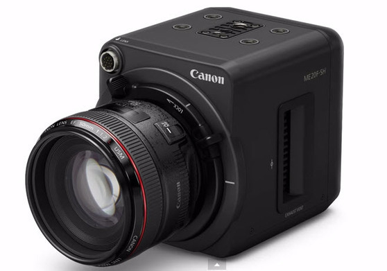 First camera to shoot 4 million ISO! Canon's ME20F-SH to be low light king