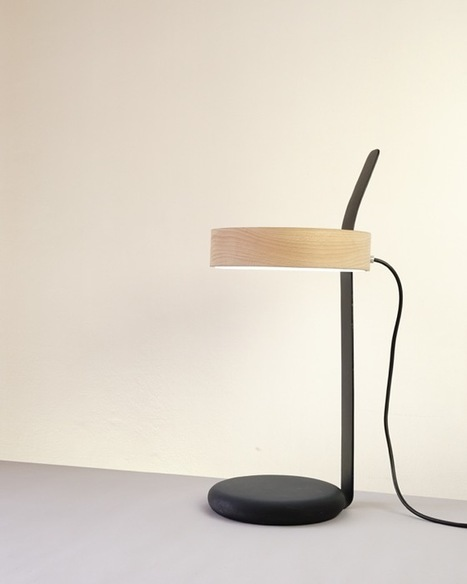 A Flexible Lamp Named Counterpoise - Design Milk | CLOVER ENTERPRISES ''THE ENTERTAINMENT OF CHOICE'' | Scoop.it