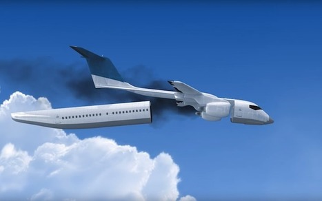 Detachable Airplane Cabin Designed to Float to Safety in an Emergency | Le It e Amo ✪ | Scoop.it
