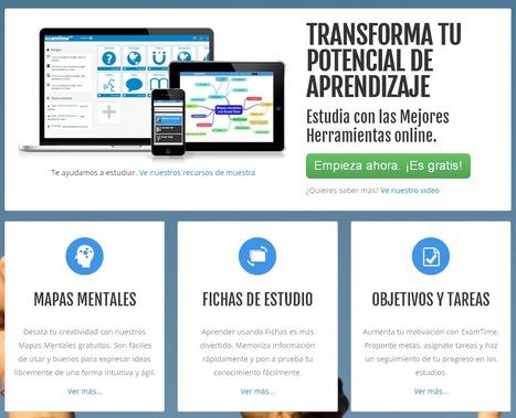 #ExamTime, una plataforma de estudio on line para docentes y alumnos #recomiendo | Apps en la escuela | Scoop.it