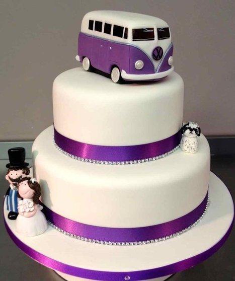 VW Campervan Wedding - by Symphony in Sugar @ CakesDecor ... | VW Camper Vans | Scoop.it