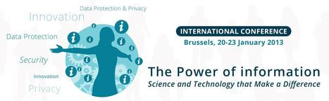 CONFERENCE: The Power of Information: Science and Technology to make a difference | FuturICT Events of Interest | Scoop.it