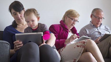 Smartphone en tablet steeds meer ingeburgerd bij Vlaamse gezinnen | ICT kleuterklas | Scoop.it