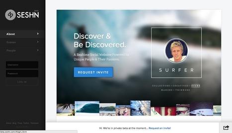 Seshn: Asociar cuentas en redes sociales y servicios Online en una plataforma | ´¿Estamos desnudos en Internet ? | Scoop.it