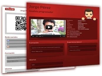 SPOTCV  crea tu currículum 2.0 totalmente gratis | Cosas que interesan...a cualquier edad. | Scoop.it