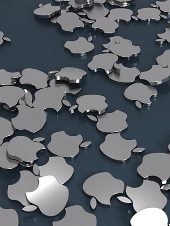 Weekend iPad Wallpapers: Apple Logos | iPad Insight | iPads in Education | Scoop.it