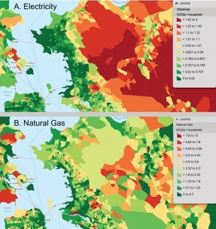 The Most Comprehensive Map of a City's Carbon Footprint Ever   Costruzioni   Scoop.it