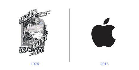 16 logos célèbres qui ont complétement changé d'aspect - infographiste | Going social | Scoop.it
