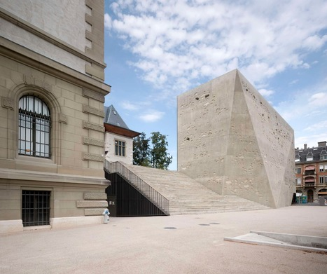 Extension to the Historisches Museum | The Architecture of the City | Scoop.it