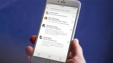 LinkedIn's newest app helps you learn more about your coworkers | iPhones and iThings | Scoop.it