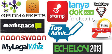 Top 10 #Startups Pitching at #Echelon2013 - Gold & Fabulous | Social Media Pronto | Scoop.it