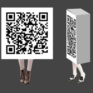 Qr Code Home - Qr Code Halloween Costume: Qr Code Costume: On Sale Now | QR CODE Advertising | Scoop.it