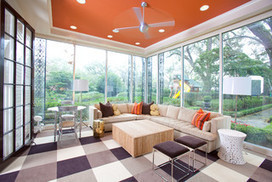Heads-Up Hues: 10 Bold Ceiling Colors | Designing Interiors | Scoop.it