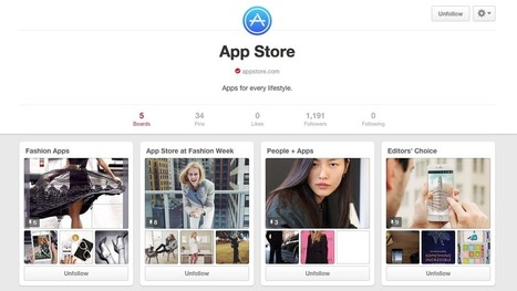 Pinterest, Apple Team Up To Promote 'App Pins' | Mobile apps | Scoop.it