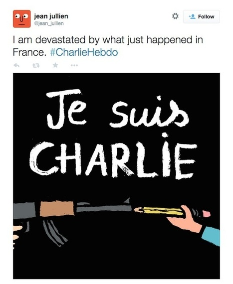 Four Cartoonists Among 12 Dead in Attack on French Satirical Magazine   TOP STORIES   Scoop.it