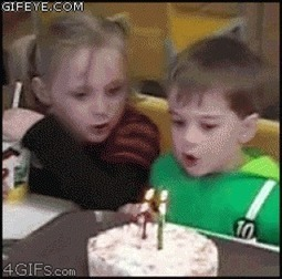9 Kids Trying To Blow Out Their Birthday Candles - TheFW | Buy  Candles Online | Scoop.it
