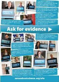 Leading Scientists Urge People to 'Ask for Evidence' | Curious Minds | Scoop.it