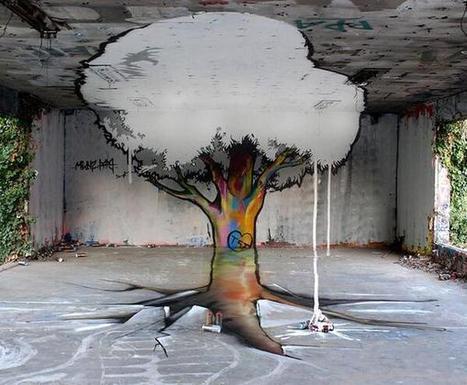Twitter / RemyRueStore: Anamorphic Graffiti by TSF ... | Landscape Architecture Inspiration | Scoop.it