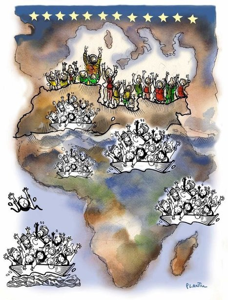 IMMIGRATION : L'Afrique et l'Europe | Dessinateurs de presse | Scoop.it