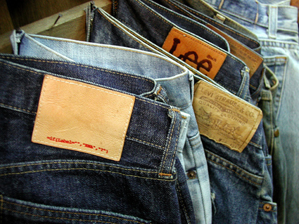 Thrift Tips: Jeans are Cheapest in October   Fashion   Scoop.it