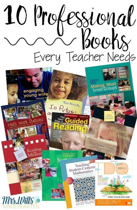 10 Teacher Professional Development Books EVERY Teacher Needs | Purposeful Pedagogy | Scoop.it
