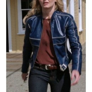 Once Upon A Time Emma Swan Blue Jacket | T.V Series Celebrity Jackets | Scoop.it