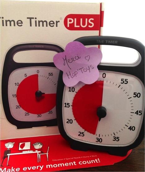 La Sauterelle Tactile: Time Timer Plus (Time Timer) : un outil merveilleux d'aide et de soutien | Méthodes éducatives & outils | Scoop.it