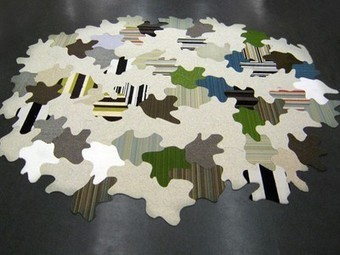 Carpet remnants recycled into unique Tessellated Floorscapes (Video) | Reducir+Reutilizar+Reciclar | Scoop.it