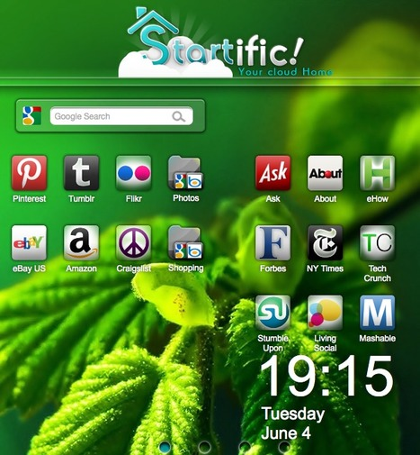 Startific | Your Cloud Homepage | Tools for Teachers & Learners | Scoop.it