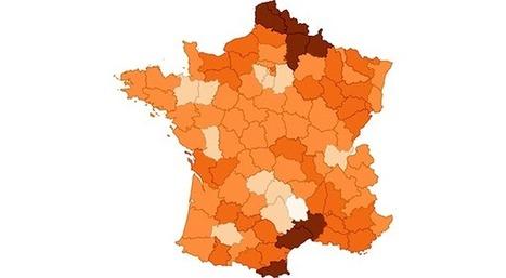 Comment le chômage s'est répandu en France depuis 10 ans | Slate | Ressources de la formation | Scoop.it