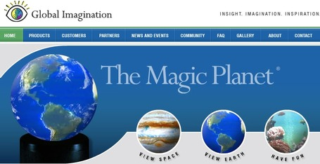 Global Imagination - Creators of the Dynamic and Interactive Magic Planet Video Globe | Aprendiendo a Distancia | Scoop.it
