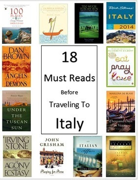 18 Must Read Books Before Traveling to Italy | Italia Mia | Scoop.it