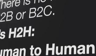 There Is No More B2B or B2C: There Is Only Human to Human (H2H) | Marketing | Scoop.it