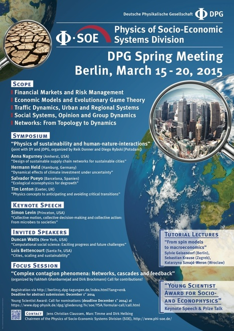 79th Annual Meeting of the DPG and DPG Spring Meeting. Berlin, 15 - 20 March 2015 | CxConferences | Scoop.it