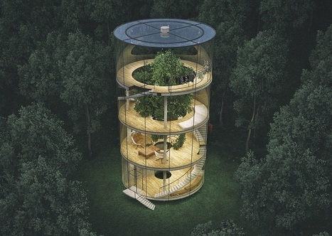 This treehouse is a childhood dream come true| Interesting Engineering | Geometry Math | Scoop.it