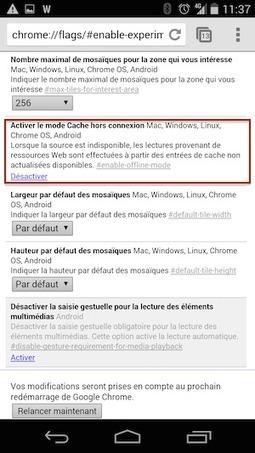 Accélérez Chrome sous Android | Time to Learn | Scoop.it