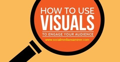 How to Use Visuals to Engage Your Audience | Technology in the Classroom | Scoop.it
