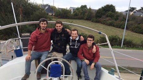 """Le tour du monde à la voile """"zéro déchet"""" de quatre copains bretons - France 3 Bretagne   Veille positive de l'actualité durable et de la nouvelle consommation   Scoop.it"""