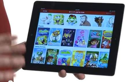 Netflix 'for Kids' Now Available on the iPad | veilleISN | Scoop.it
