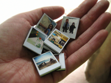 Tiny Polaroid Magnets | { Ambrosia Creative } | creativity101 | Scoop.it