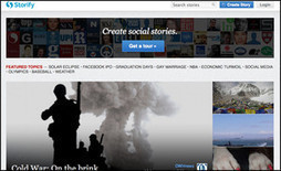 A catch-up with Storify: The past, present and future   Transmedia: Storytelling for the Digital Age   Scoop.it