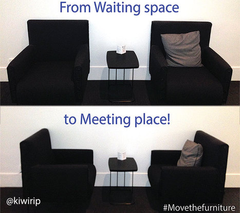 Create spaces by moving furniture | Learning Spaces and the Physical Environment | Scoop.it