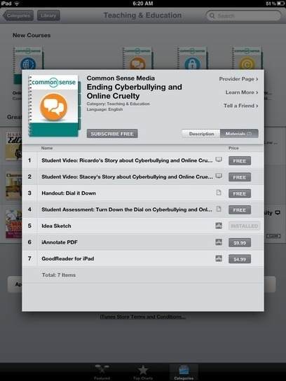 Cool Cat Teacher Blog: iBooks 2 and iTunes U: A Quick Review from a Teacher #edapp | Leading Learners | Scoop.it